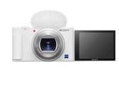 【震博】Sony ZV-1 側翻螢幕4K高畫質相機晨曦白(台灣索尼公司貨;預購~) 送皮革手腕帶、NP-BX1電池