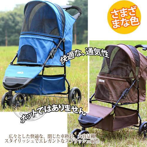 【培菓平價寵物網】 PettyMan》32-PM818 時尚優雅三輪推車(三款顏色)