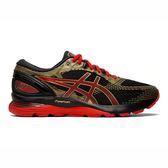 ASICS GEL-NIMBUS 21 [1011A257-001] 男鞋 運動 慢跑 健走 休閒 緩衝 亞瑟士 黑紅