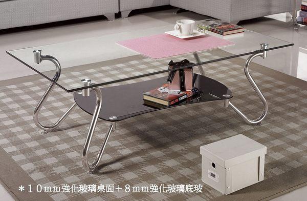 【南洋風傢俱】茶几系列-造型桌 玻璃桌 長方桌 拉墨大茶几(JH539-2)