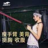 健身彈力繩彈力繩女運動健身器材拉力器手臂訓練胸家用阻力帶 伊蒂斯女裝