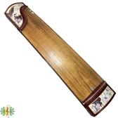 古箏 [網音樂城] 孔雀 絹畫 紅木 21弦 批發 DIY 自組價 guzheng (贈 琴架 譜架 )