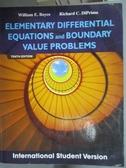【書寶二手書T1/大學理工醫_PDV】Elementary Differential..._Richard DiPrima