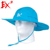 EX2 男防蚊速乾大圓盤帽 UPF50+『湖藍』361109 遮陽帽|棒球帽|遮頸帽|抗UV|防曬