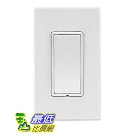 [美國直購] Leviton DZS15-1BZ Decora Z-Wave Controls 15-Amp Scene Capable Switch, White/Ivory/Light Almond
