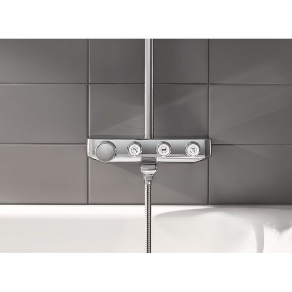 【麗室衛浴】GROHE EUPHORIA SMARTCONTROL SYSTEM 260 三段式出水 定溫淋浴花灑組 (鉻色)