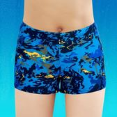 館長推薦☛波里波麗 兒童泳衣 男童泳衣泳褲平角男童迷彩游泳褲游泳衣