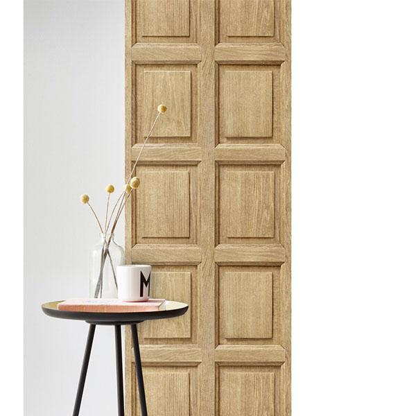 木紋壁紙  木框紋壁紙 客廳壁紙【法國壁紙】 KOZIEL8888-315