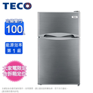 TECO東元100L一級節能雙門小冰箱 ...
