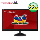 ViewSonic 優派 VA2261h-8 護眼零閃屏 22型寬螢幕