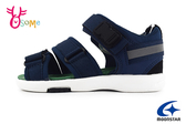 Moonstar 月星 日本機能鞋 中童 洗滌速乾 戶外休閒 涼鞋 I9651#藍色◆OSOME奧森鞋業