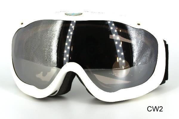 AD透明/鍍膜防霧鏡片專業雪鏡/風鏡2
