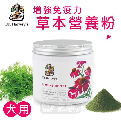 [寵樂子]《Dr. Harvey's 哈維博士》犬用增強免疫力營養養粉7oz/寵物保健品