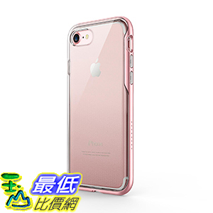 [106美國直購] Anker Ice-Case Lite Transparent Clear Protective Case for iPhone 7(Rose Gold)手機殼
