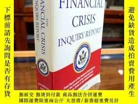 二手書博民逛書店The罕見Financial Crisis Inquiry Re