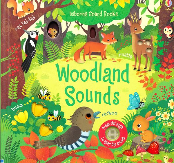【幼兒聲音學習書 】WOODLAND SOUNDS /聲音書
