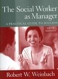 二手書博民逛書店《The Social Worker As Manager: A