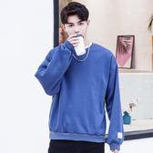 長袖t恤男韓版寬鬆學生bf潮流個性帥氣百搭衣服 優家小鋪