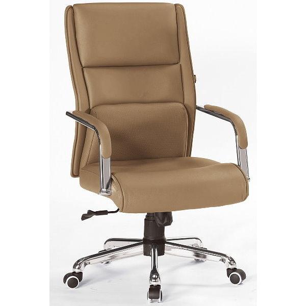 電腦椅 辦公椅 QW-560-4 米可洛土灰色辦公椅【大眾家居舘】