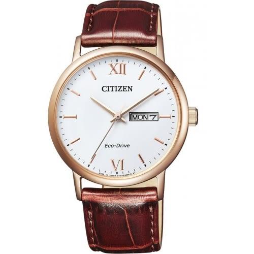 CITIZEN 星辰GENTS 光動能時尚男皮帶腕錶/BM9012-02A