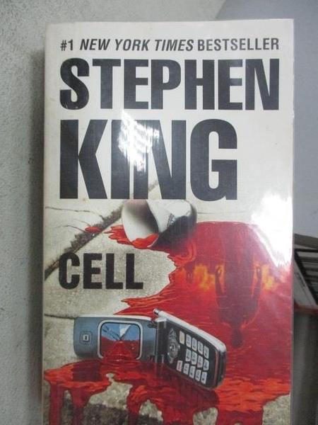 【書寶二手書T5/原文小說_MOP】CELL_Stephen King