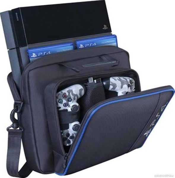 現貨PS4包包SONY ps4 pro主機包收納包slim游戲機包PS4/ps3主機通用包 3-19
