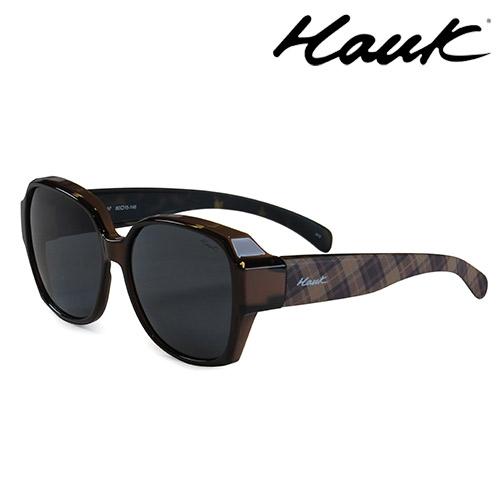 HAWK 新型薄框偏光太陽眼鏡套鏡(2用)HK1025-97