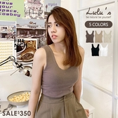 特價【A01200599】K自訂款素面罩杯背心5色