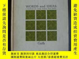 二手書博民逛書店Words罕見and Ideas (third edition)