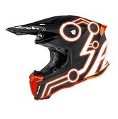 AIROH TWIST 2.0 NEON 越野帽 #24 消光黑/橘 義大利品牌|23番 安全帽 雙D扣 輕量 透氣 全罩