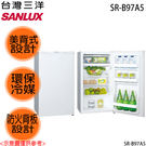 【SANYO三洋】97L單門冰箱 SR-...