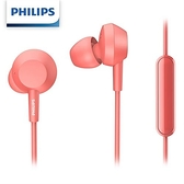 PHILIPS飛利浦 TAE4105RD 入耳式耳麥 (紅色)