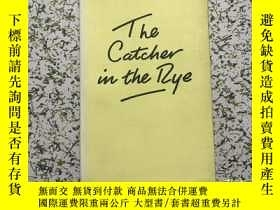 二手書博民逛書店the罕見catcher in the rye 麥田裏的守望者(