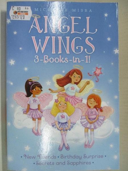 【書寶二手書T1/原文小說_CV3】Angel Wings 3-Books-in-1!: New Friends / Birthday…