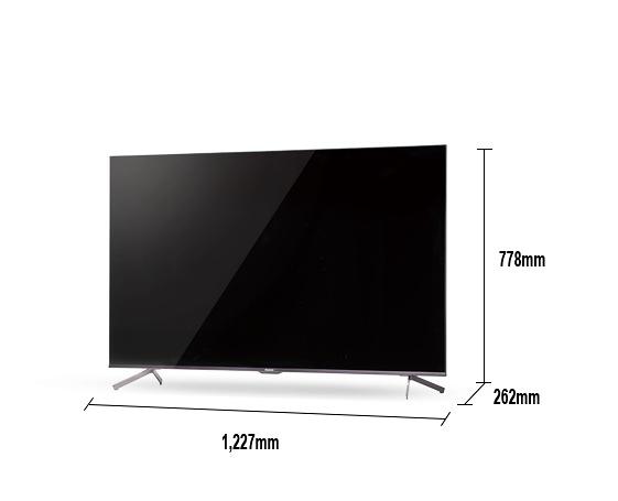 《《Panasonic 國際牌》Android TV 55吋 4K液晶電視 TH-55JX650W (含視訊盒)(安裝另計)