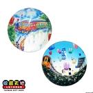 【收藏天地】台灣紀念品*水晶玻璃球冰箱貼-十分平溪造型2款 ∕ 小物 磁鐵 送禮 文創