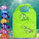 熱帶魚環保購物袋-2入...