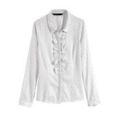 【MASTINA】點點造型襯衫-白 0612