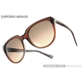 EMPORIO ARMANI 太陽眼鏡 EA4027 519818 (透棕) 名品時尚流線經典款 墨鏡 # 金橘眼鏡