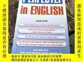 二手書博民逛書店Pronounce罕見It Perfectly In English (second edition)Y112