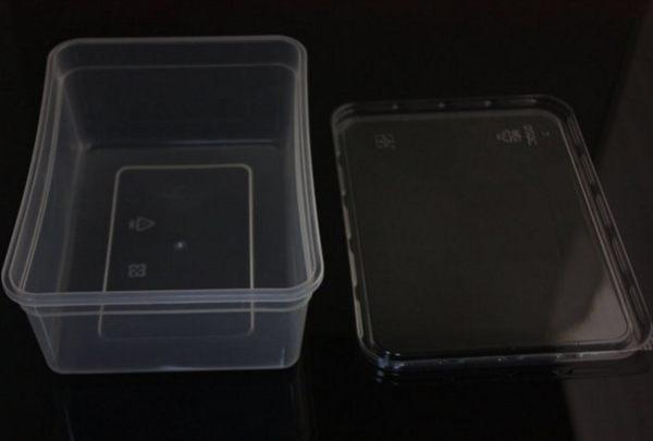 5入 700CC PP餅乾盒 塑膠盒 保鮮盒S013