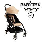 法國【BABYZEN】YOYO-Plus手推車6+ 黑腳 (卡布)