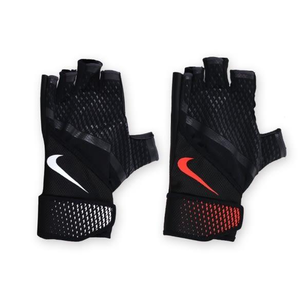 NIKE 男用加重訓練手套(重量訓練 健身 半指手套 免運≡體院≡