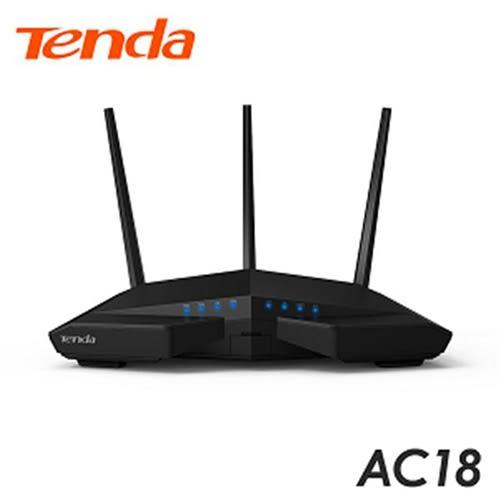Tenda AC18 1900M 11AC 超競速雙頻無線路由器
