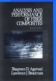 二手書博民逛書店 《Analysis and performance of fiber composites》 R2Y ISBN:0471511528│Agarwal