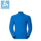【速捷戶外】瑞士ODLO 152012 機能銀纖維長效保暖底層衣高領(天藍) 男