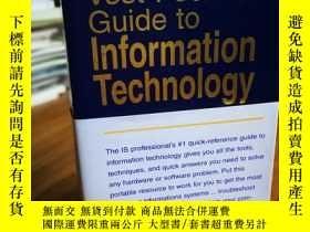 二手書博民逛書店Vest-Pocket罕見Guide to Informatio
