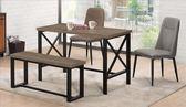 【新北大】✪ C849-2 巴大4尺木面餐桌(不含餐椅.板凳)-18購