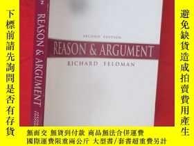 二手書博民逛書店Reason罕見& Argument ( 16開 ) 【詳見圖】