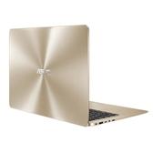 【綠蔭-免運】華碩 UX430UN-0291D8250U (璀璨金) 14吋 家用筆記型電腦